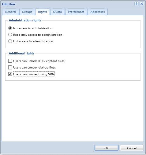 تنظیمات و کانفیگKerio VPN Client